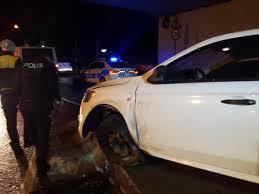 trafik kazasında kaçan sürücü